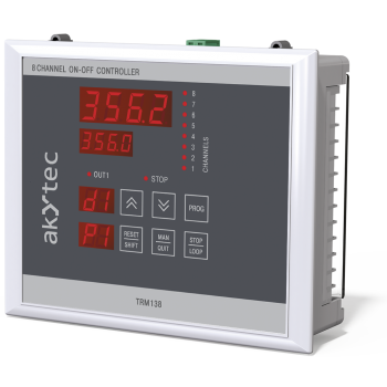 TRM138 multi-channel on-off controller