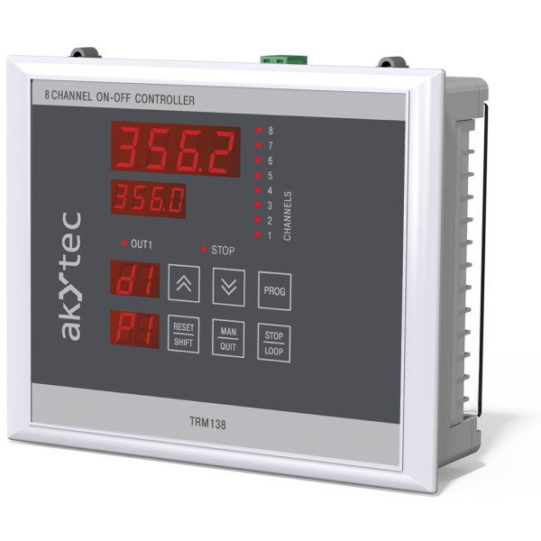 TRM138 multi-channel on-off controller | akYtec