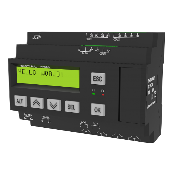 PR200 programmable relay | akYtec