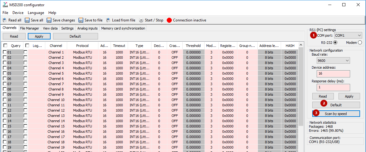 MSD200 Data logger   akYtec
