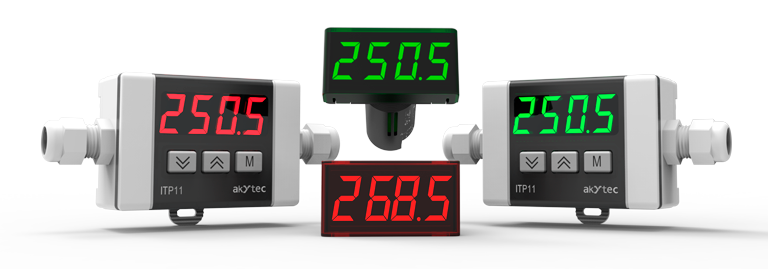 Digital process displays from akYtec